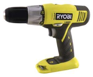 Ryobi 18 volt drill driver