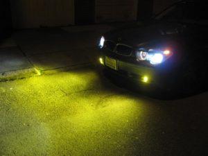 Yellow Fog Lights